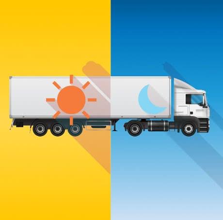 Linehaul & Interstate Pallet Freight truck