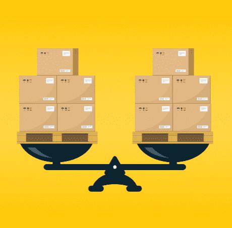 Gross weight of freight